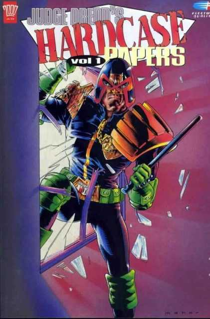 Judge Dredd's Hardcase Papers