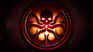The HYDRA logo in the show
