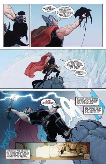 Thor's thunder is felt across worlds
