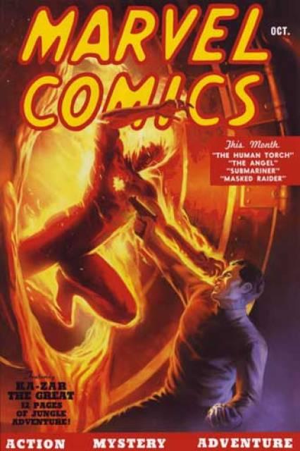 Golden Age of Marvel Comics Omnibus