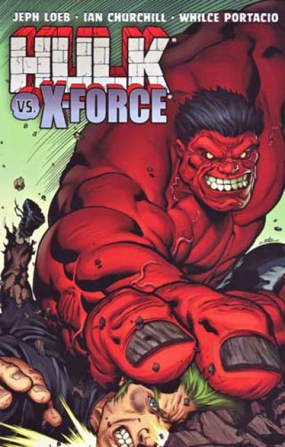 Hulk vs. X-Force