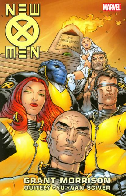 New X-Men By Grant Morrison