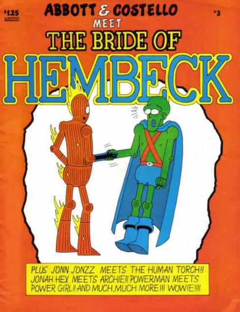 Abbott & Costello Meet the Bride of Hembeck