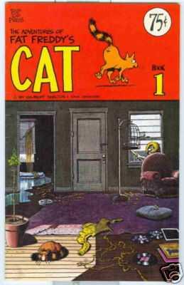 Adventures of Fat Freddy's Cat