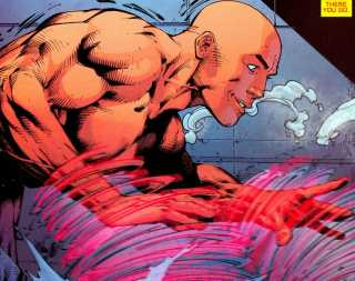 Red Tornado in his human form