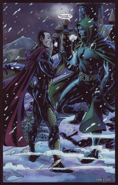 Making a Pact with Doctor Doom