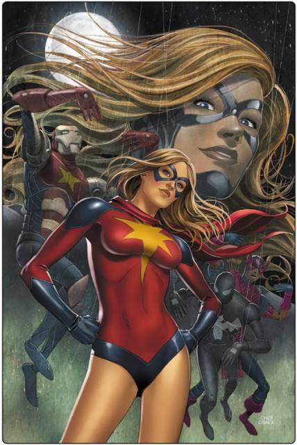 Moonstone as the Dark Avengers' Ms. Marvel