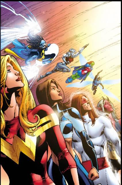 Aquagirl as a member of Wonder Girl's Teen Titans