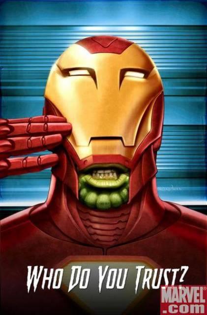 Tony the Skrull?!