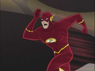 Wally in Justice League