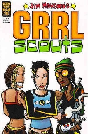 Jim Mahfood's Grrl Scouts