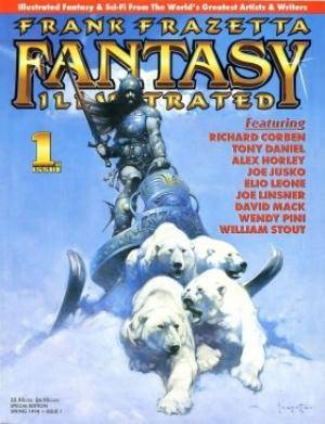 Frank Frazetta Fantasy Illustrated
