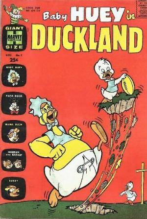 Baby Huey In Duckland