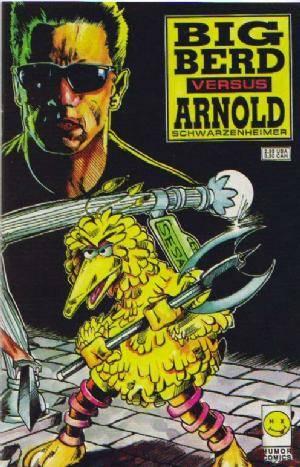 Big Berd Versus Arnold Schwarzenheimer