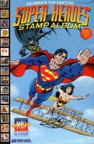 Celebrate The Century Super Heroes Stamp Album