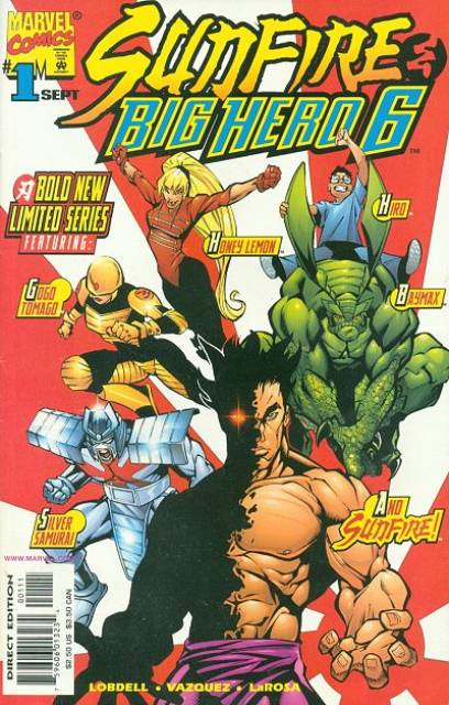 Sunfire & Big Hero 6