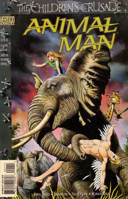 Animal Man Annual