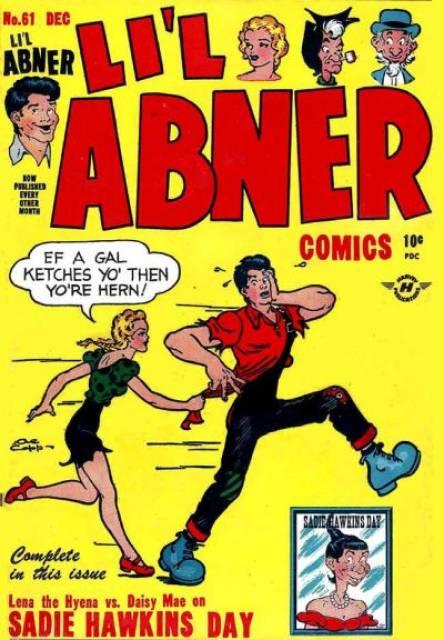 Al Capp's Li'l Abner Comics