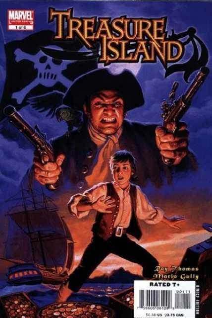 Marvel Illustrated: Treasure Island