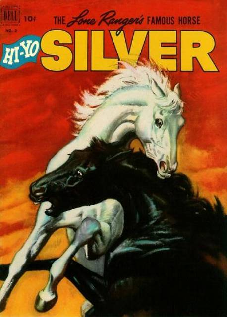 Lone Ranger's Famous Horse Hi-Yo Silver