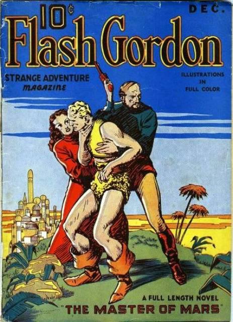 Flash Gordon Strange Adventure Magazine