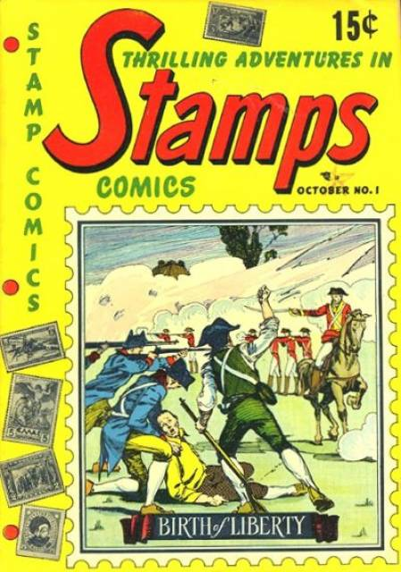 Thrilling Adventures In Stamps Comics