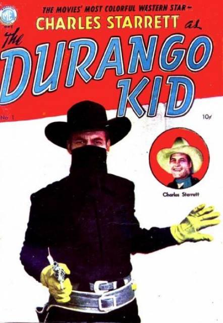 Charles Starrett as The Durango Kid