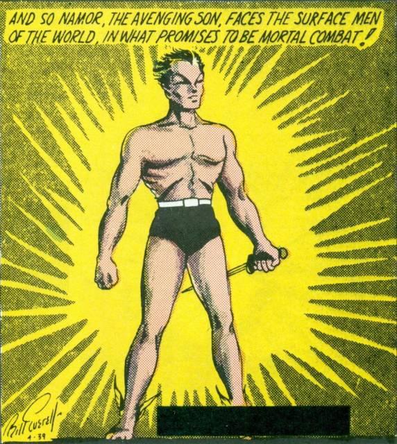 Namor: The Golden Age Sub-Mariner
