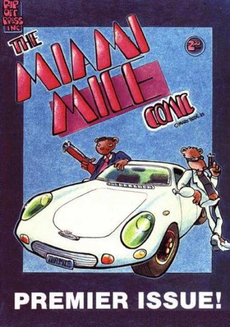 Miami Mice Comic