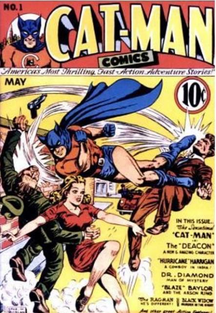 Cat-Man Comics