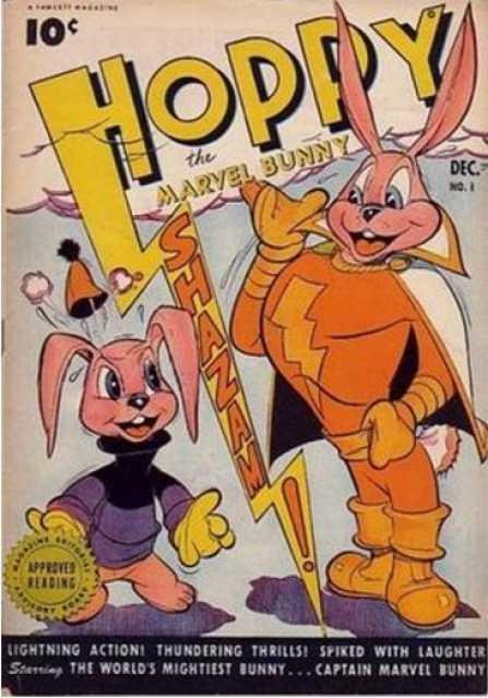 Hoppy The Marvel Bunny