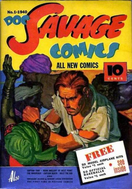 Doc Savage Comics