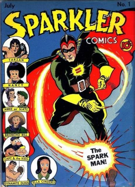 Sparkler Comics