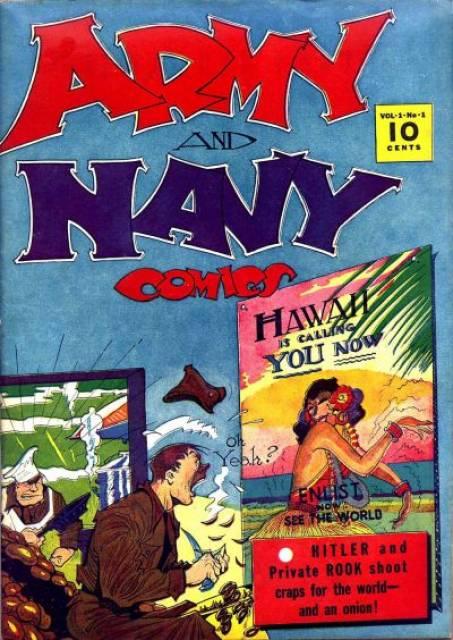 Army & Navy Comics