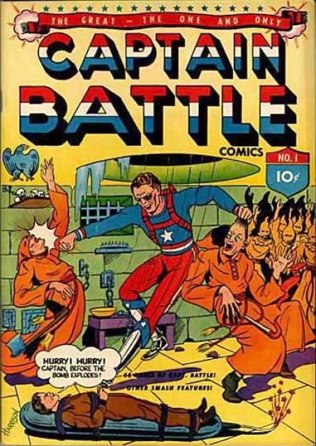 Captain Battle Comics