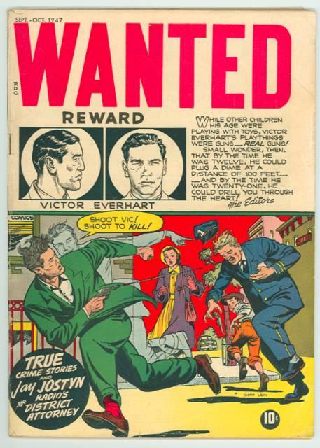 Wanted Comics