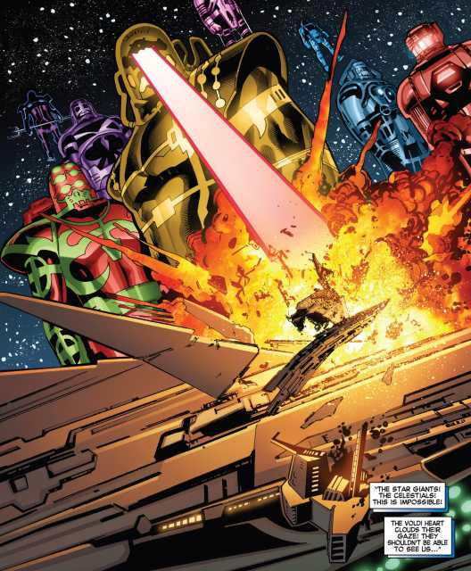 The Celestials have come for revenge.