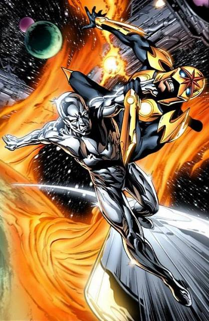 An Encounter with the Silver Surfer.
