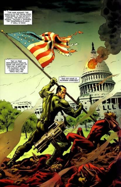 Dark Reign of Norman Osborn