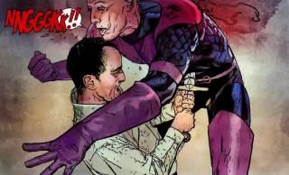 Swordsman confronts Osborn