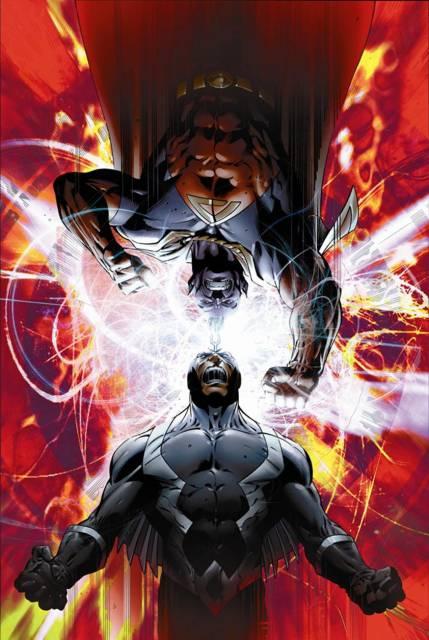 Black Bolt faces Gladiator