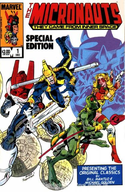 Micronauts: Special Edition