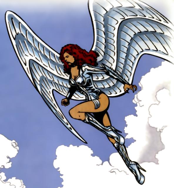Vanessa as Silver Swan.