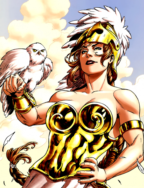 Athena reveales Trey as one of Earth's Champions!