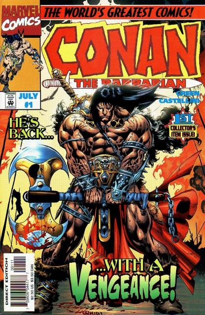 Conan the Barbarian: Stalker of the Woods