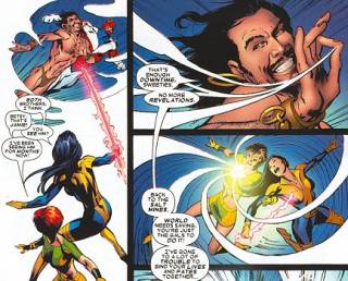 Betsy and Rachel get drawn into the House of M