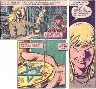 Illyana and her Bloodstones