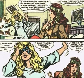 Carol describes her condition to Wanda