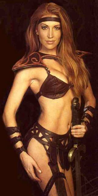 Angelica Bridges as Red Sonja (television)