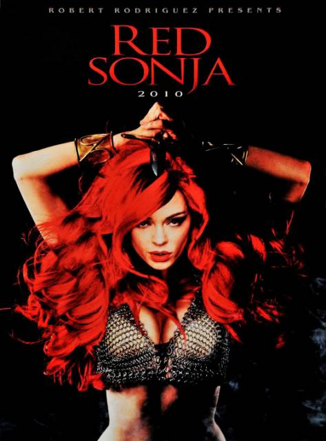 Poster of Rose McGowan as Red Sonja